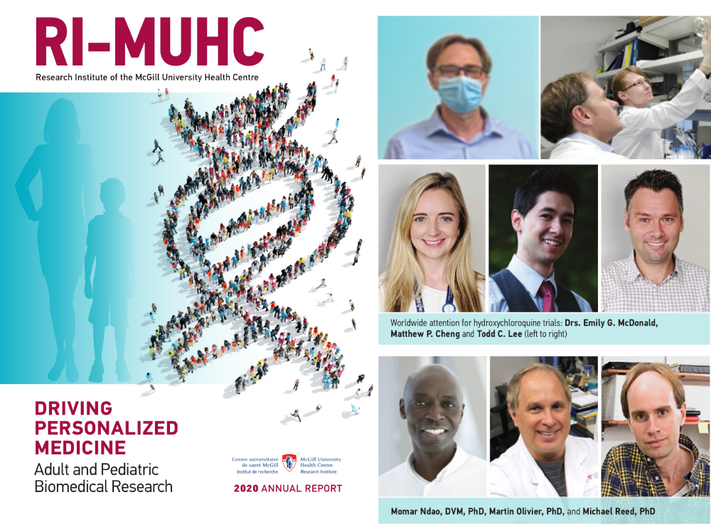 RI-MUHC 2020 Annual Report